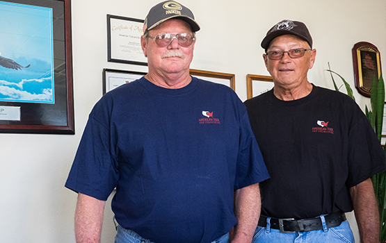 Founders Jerry Taylor & Dennis Hobson